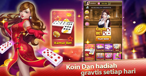 Domino Gaple Online Bet - Indonesia Kartu Gratis 1.0.1 screenshots 1