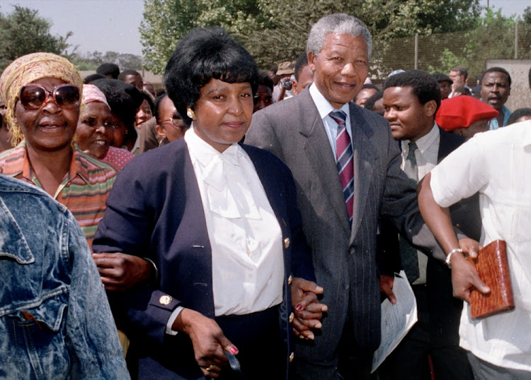 In 1991' she was convicted of kidnapping and being an accessory to assault of Stompie Seipei' a young activist who was killed by a member of her bodyguards' the Mandela United Football Club. Madikizela-Mandela's bodyguards had abducted Seipei' 14' in 1989' along with three other youths' from the home of Methodist minister Paul Verryn. Her six-year jail sentence was reduced to a fine and a two-year suspended sentence on appeal.