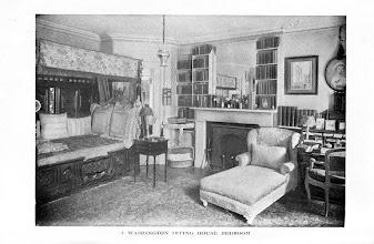 Photo: Elsie De Wolfe's bedroom, early 20th c.
