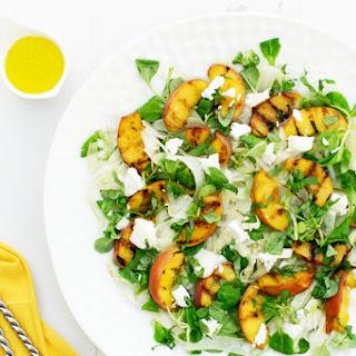 Peach, Fennel & Goat Cheese Salad [vegetarian] [gluten free]