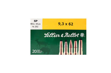 Sellier & Bellot 9,3x62 SP 286gr