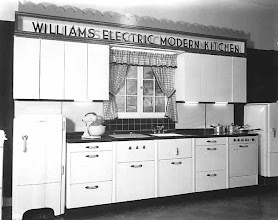 Photo: 1938 electric model kitchen
