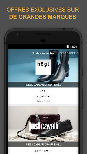Zalando Privé - Outlet Mode Android App Screenshot