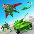 Flying Jetpack Army Hero: Gangster Crime Simulator