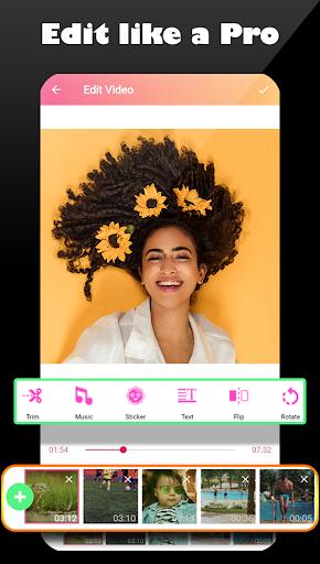 Video star editor ⭐  Pro video & photo editing screenshot 1