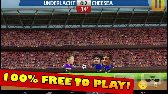 Football Headz Cup - Free!- screenshot thumbnail