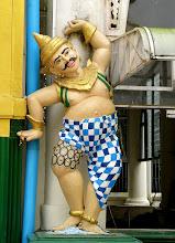 Photo: Year 2 Day 54 -  Figurine in Shwedagon Paya
