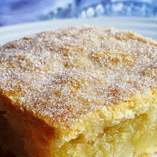 Apple Shortcake Squares.