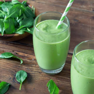 Spicy Surprise Green Smoothie.