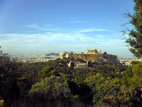 Photo: Az Akropolisz esti fényben