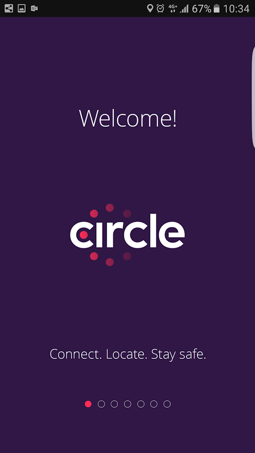 Circle: the London safety app- screenshot