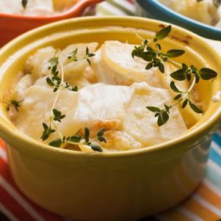 Cheesy, Creamy Potato Casserole.