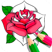 Flower Coloring Book Android APK Download Free By Infokombinat