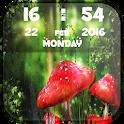Fireflies Clock Live Wallpaper icon