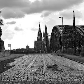 Cologne by Pe Tra - Black & White Buildings & Architecture