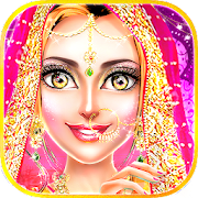 Traditional Wedding Salon - Makeup & Dress up Game