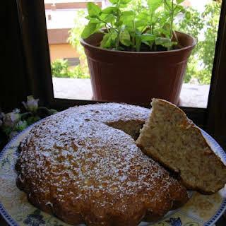 Applesauce Oat Cake.