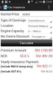 Car Loan Calculator (Malaysia) screenshot 4