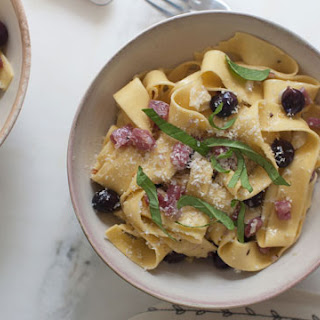 Grape and Sopressata Pasta
