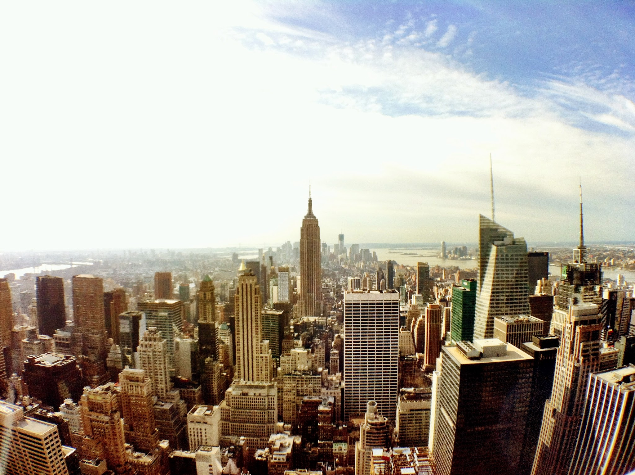 Photo: Downtown from Top of the Rock (High Contrast)