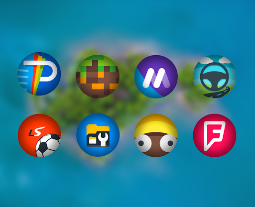 Zoro - Icon Pack app for Android screenshot