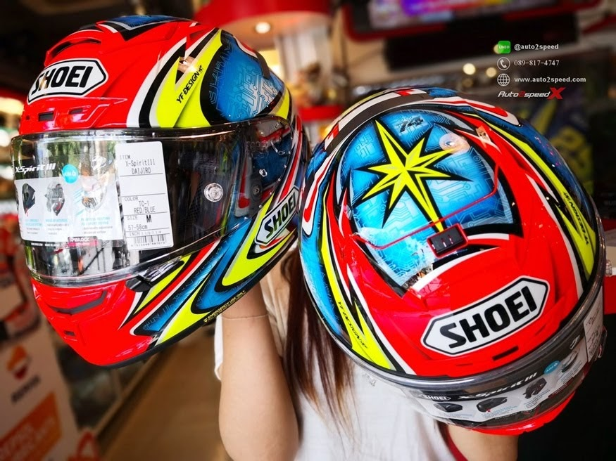 SHOEI X SPIRIT III DAJIRO TC1