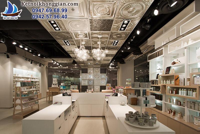 thiết kế cửa hàng hợp lý