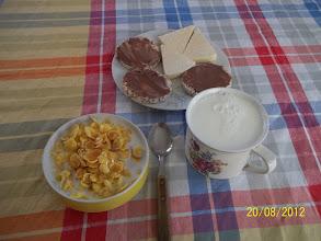 Photo: snídaně