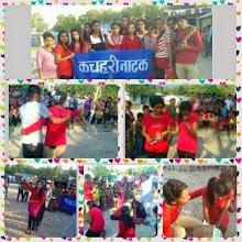 Photo: 4.16.15 Nepal forum theater IN TRANSPORTATION AND SCHOOL IN HETAUDA CITY OF NEPAL Photo Credit- Anita Rana