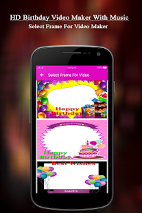 HD Birthday Video Maker With Music - náhled