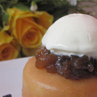 Baba Cakes In A Brandy/apple Syrup.