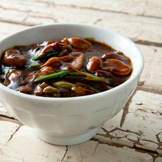 Sichuan Stir Fry Puffballs