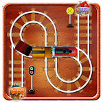 Rail Track Maze Icon