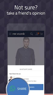 Mr Voonik -Online Shopping Men- screenshot thumbnail