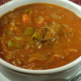 Vegetable Barley Beef Soup.