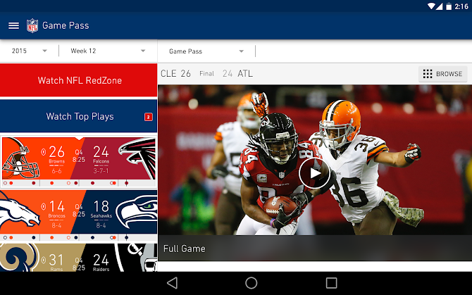 NFL Mobile Android 11
