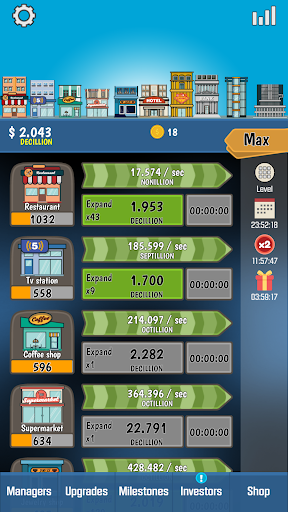 Business Tycoon - Idle Clicker 1.4.5 {cheat|hack|gameplay|apk mod|resources generator} 1