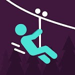 Zipline Valley - Physics Puzzle Game Icon
