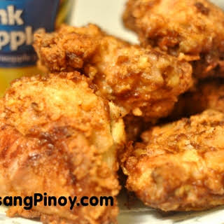Pineapple Fried Chicken.
