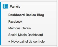 painéis - analytics para mídias sociais