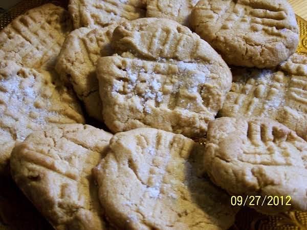 Poor Mans` Peanut Butter Cookies Recipe