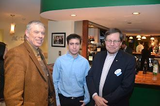 Photo: Glenn Jones, Student Guest, Mike Swayne