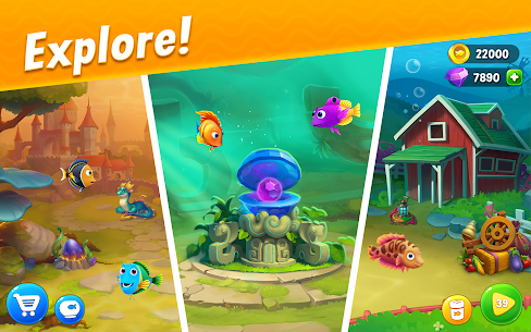 Fishdom 5.23.0 MOD APK (Unlimited Everything) 3