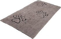 Dog Gone Smart Pet Products Dirty Dog Doormat Runner - Grey