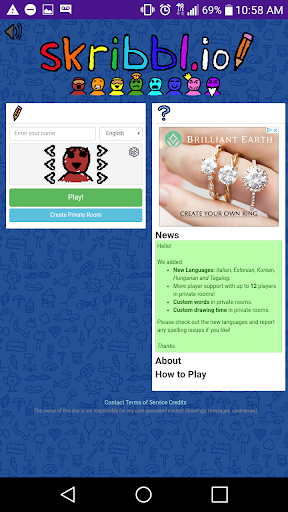 Skribbl.io - Draw, Guess, Have Fun 1.6 screenshots 1