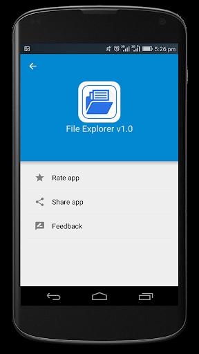 File Explorer 1.04 screenshots 4