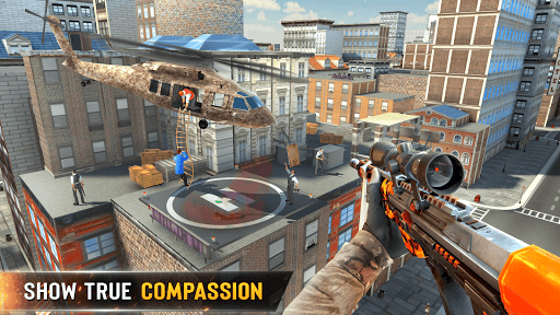 New Sniper Shooter: Free offline 3D shooting games screenshot 5