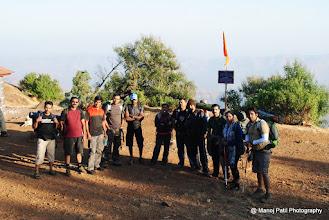 Photo: Group Snap at Rajgad