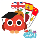 Sami Tiny FlashCards for toddlers, preschool, kids icon