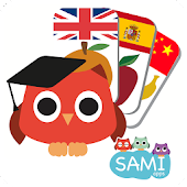 Sami Tiny FlashCards for toddlers, preschool, kids